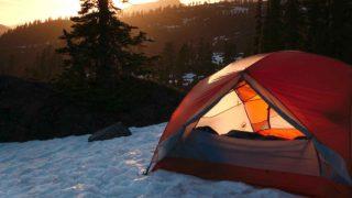 キャンプでの防寒対策