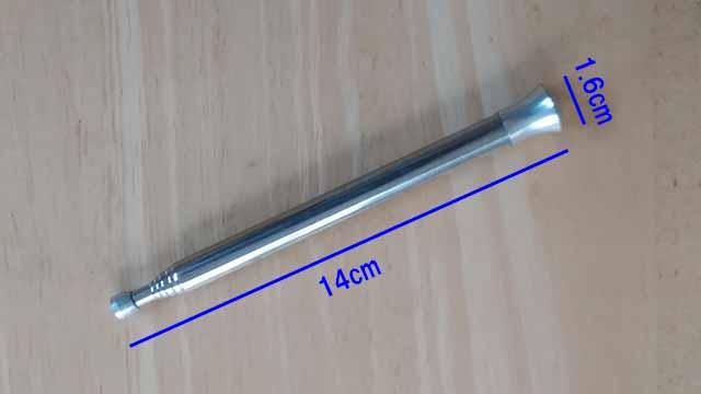 火吹き棒 サイズ 14cm