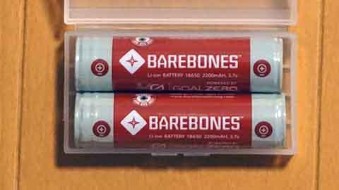 Barebonesバッテリー